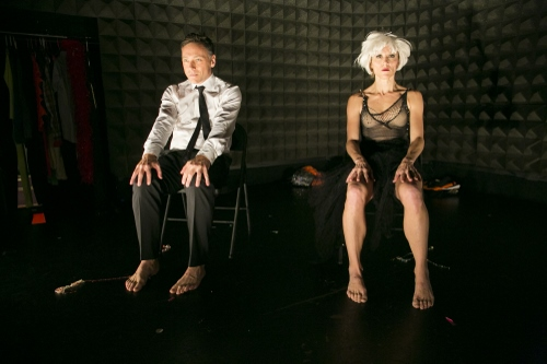 Larry Keigwin and Nicole Wolcott in 'Places Please!'