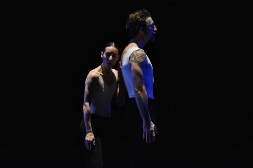 GroundWorks DanceTheater's Felise Bagley and Damien Highfield in David Shimotakahara's 'Circadian.'