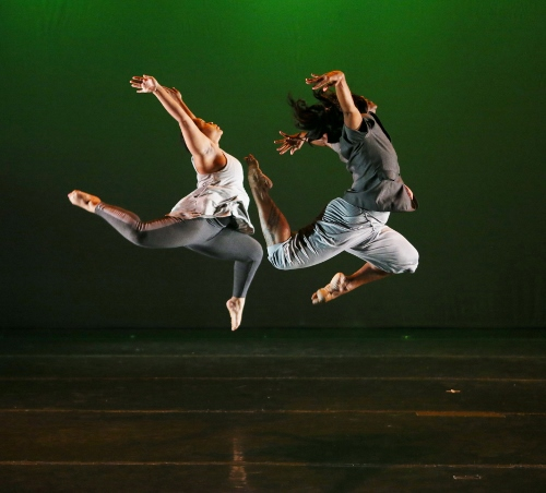 Marianna Hester, left, and Denice Simpson Braga in 'You Never Know' choreographed by Latanya d. Tigner.