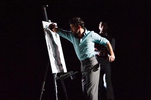 Ballet Hispanico in Gustavo Ramírez Sansano's 'Espíritus Gemelos'.