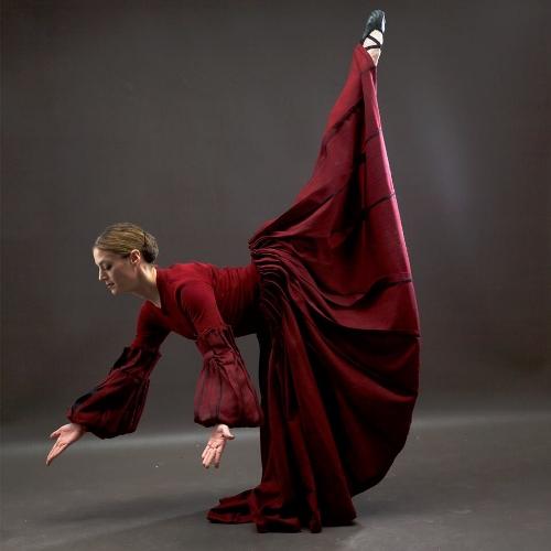 Dance Kaleidoscope's Mariel Greenlee as The Pioneering Woman in 'Appalachian Spring.'