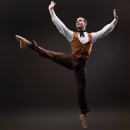 Dance Kaleidoscope's Timothy June as The Husbandman in 'Appalachian Spring.'