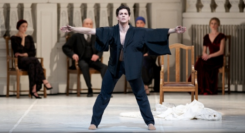 National Ballet of Canada's Guillaume Cote as Nijinsky.