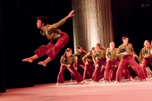 'Mountain Dew Honey Spring' choreographed by Grace Courvoiser (BFA'11)