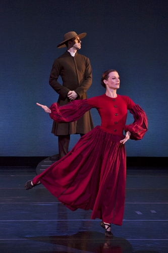 Dance Kaleidoscope's Stuart Coleman and Mariel Greenlee in Martha Graham's 'Appalachian Spring.'
