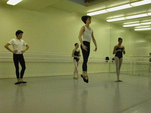 Nadege Hottier's Level 6 Ballet Class at Studio Maestro