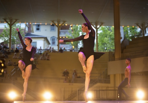 Charlotte Ballet and the Chautauqua Symphony Orchestra perform Mark Diamond's 'Scherzo'.