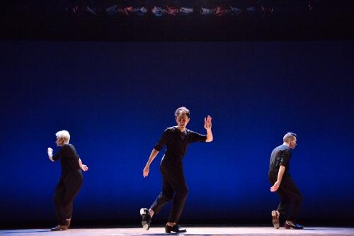 (L-R) Brittany DeStefano, Caleb Teicher and Gabriel Winns Ortiz in 'Variations'.