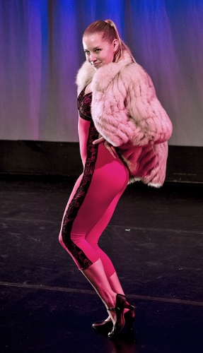 Dancer: Marie Kuhns<br>Don't Tell Mama, choreographed by Brandon Comer