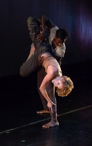 """Memory Object,"" choreography by Elizabeth Shea, dancers: Rachel Newbrough and Justin Sears-Watson."