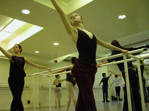 Deborah Wingert's Level 7 Ballet Class at Studio Maestro <a href='article.htm?id=1734'>More Level 7 Ballet Photos</a>