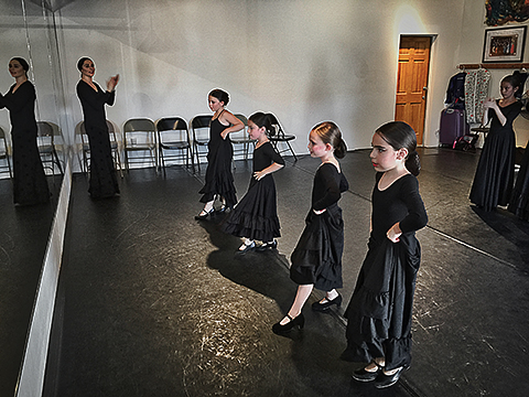 Flamenco school.