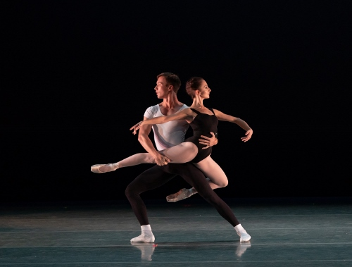 Dancers: Glenn Kelich & Buse Babadag<br>Ballet: The Four Temperaments <br>Choreography by George Balanchine (c) The George Balanchine Trust.