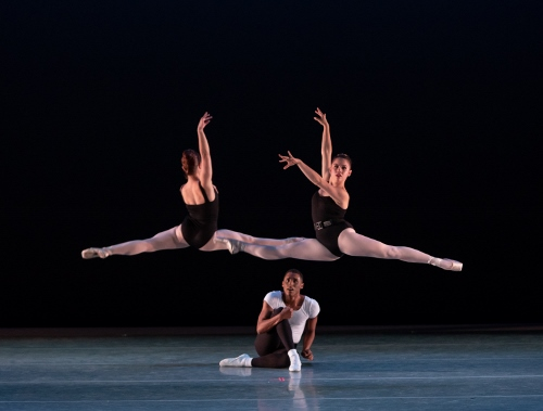 Dancers: Abigail-Rose Crowell, Rowan Allegra & Khris Santos<br>Ballet: The Four Temperaments <br>Choreography by George Balanchine (c) The George Balanchine Trust.