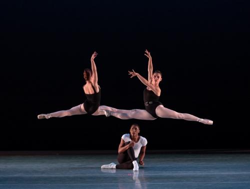 Dancers: Abigail-Rose Crowell, Rowan Allegra & Khris Santos<br>Ballet: The Four Temperaments <br>Choreography by George Balanchine (c) The George Balanchine Trust.