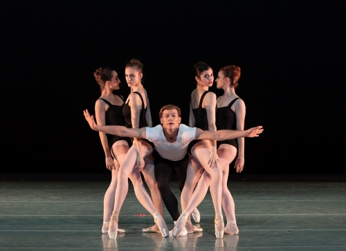 Dancers: Jessica Miller, Mary Ann Schaefer, Shea Johnson, Sierra Levin & Indiana Coté<br>Ballet: The Four Temperaments <br>Choreography by George Balanchine (c) The George Balanchine Trust.