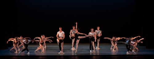 Dancers: Indianapolis Ballet<br>Ballet: The Four Temperaments <br>Choreography by George Balanchine (c) The George Balanchine Trust.