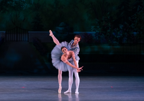 Dancers: Kristin Toner & Riley Horton<br>Ballet: Raymonda Variations <br>Choreography by George Balanchine (c) The George Balanchine Trust.