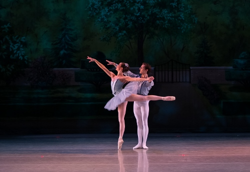 Dancers: Kristin Toner & Riley Horton<br>Ballet: Raymonda Variations <br>Choreography by George Balanchine (c) The George Balanchine Trust.