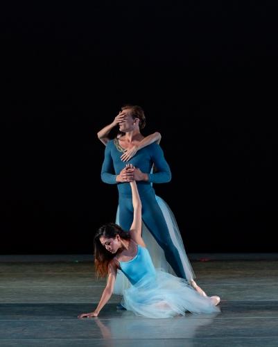 Dancers: Yoshiko Kamikusa, Shea Johnson & Jessica Miller<br>Ballet: Serenade <br>Choreography by George Balanchine (c) The George Balanchine Trust.