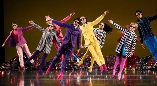 Mark Morris Dance Group in 'Pepperland'.