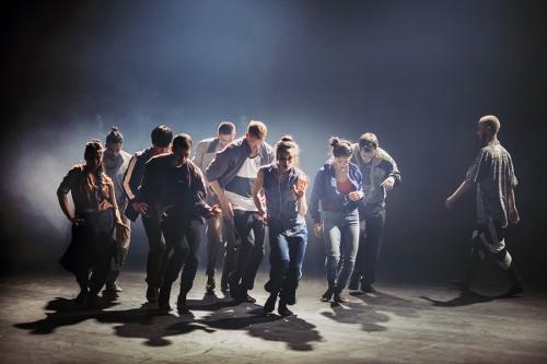 NDT1 in 'Vladimir,' choreography Hofesh Shechter.