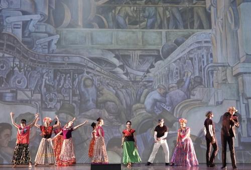 Oakland Ballet Company in 'Viva la Vida,' a collaboration with Ballet Folklórico México Danza.