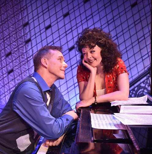 David Schmittou and Sarah Hund play Vernon and Sonia, a composer and quirky lyricist, in Beef & Boards Dinner Theatre's production of They're Playing Our Song. On stage through Feb. 3, the Neil Simon and Marvin Hamlisch romantic musical comedy opens Beef & Boards' 46th Season.