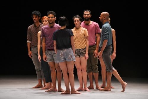 Malpaso Dance Company in 'Tabula Rasa'.