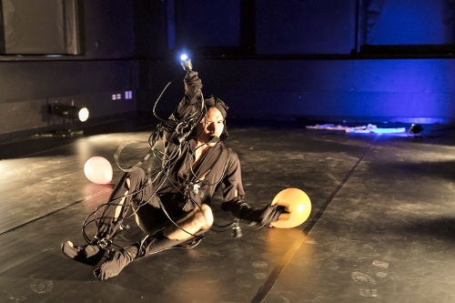 First Nations Dialogues: KIN<br>Curated by Emily Johnson. Presented by Performance Space New York in partnership with BlakDance and American Realness. Joshua Pether 'Jupiter Orbiting' (U.S. Premiere).