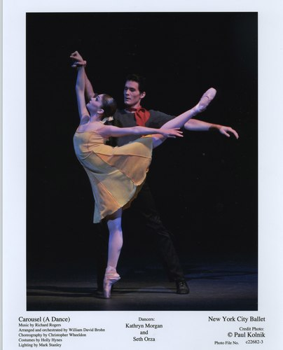 Kathryn Morgan and Seth Orza in NYCB's Carousel (A Dance)