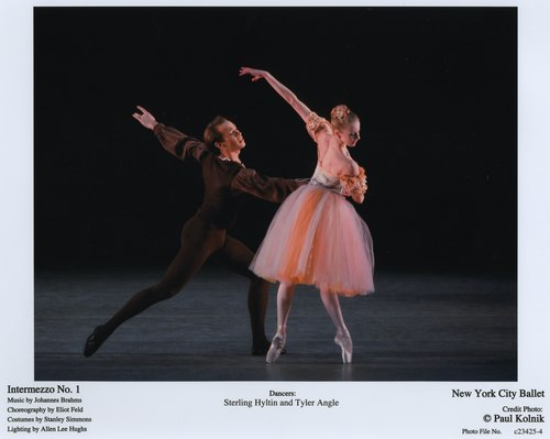 Sterling Hyltin and Tyler Angle in NYCB's Intermezzo No. 1