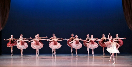 Kristin Toner takes the lead during Paquita Grand Pas Classique, part of Indianapolis Ballet's production Love is in the Air, performed Feb. 15-17 at The Tobias Theater at Newfields.
