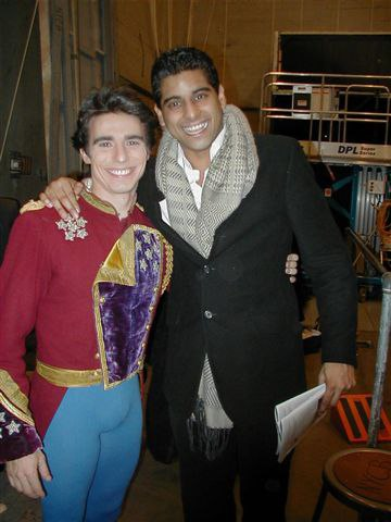 Backstage with Joaquin De Luz and Guest, NYC Ballet Dancer, Amar Ramasar