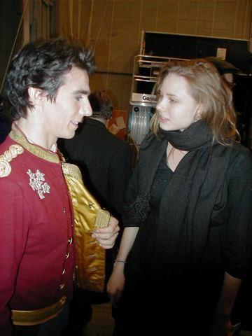 Joaquin De Luz and Guest, NYC Ballet Dancer, Sara Mearns