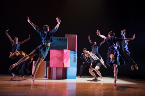 Ballet Hispánico in Bennyroyce Royon's 'Homebound-Alaala'.