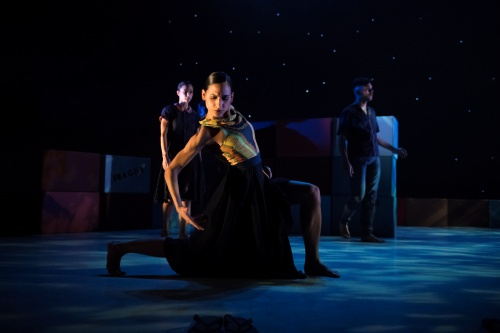 Ballet Hispánico's Melissa Verdecia in Bennyroyce Royon's 'Homebound-Alaala'.