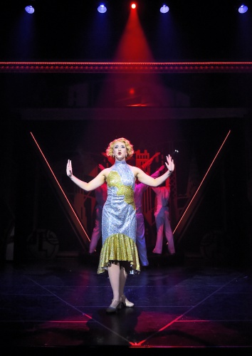 Kaylee Verble stars as Peggy Sawyer in 42nd Street at Beef & Boards Dinner Theatre. The Tony Award-winning musical is now on stage through May 19.