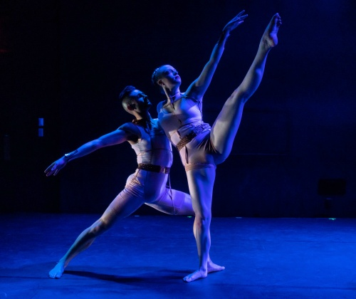 "Brynlie Helmich and Thomas Varvaro in Tiffany Rea-Fisher's ""And Then They Were""."