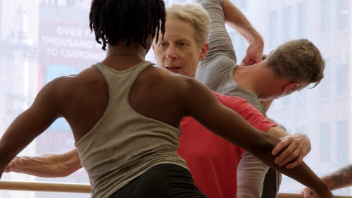 Meg Harper and Davalois Fearon in IF THE DANCER DANCES (Monument Releasing)