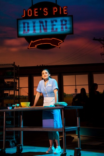 Christine Dwyer in the Tour of 'Waitress'.