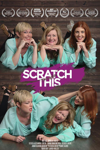 'Scratch This' crowd funding campaign poster