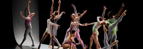 "BalletX in Nicolo Fonte's ""Steep Drop, Euphoric""."