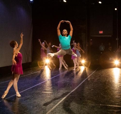 Indianapolis Ballet - <br>'Allegro Vivace' <br>Choreography: Victoria Lyras<br>Dancers: Khris Santos.