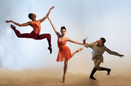 "The Kathryn Posin Dance Company in ""Evolution: The Letters of Charles Darwin"""