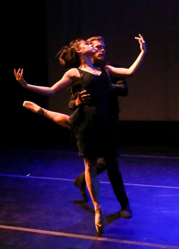 Rowan Allegra & Shea Johnson in <br>Kristin Toner's 'A New Normal'.