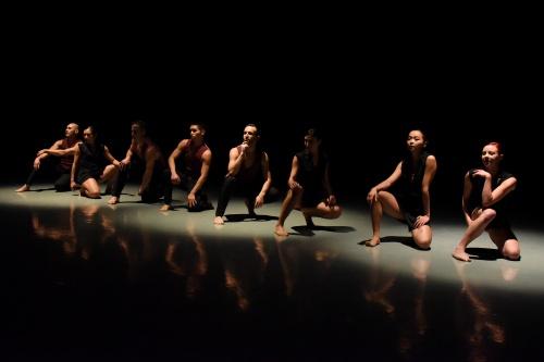 """Rhapsody""<br>Dancers - Cristiana Cavallo, James Jeffery, Katharine Larson, Aoi Ohno, Mamiko Nakatsugawa, Patrick Piras, Nathan Rommel and Richard Sayama."