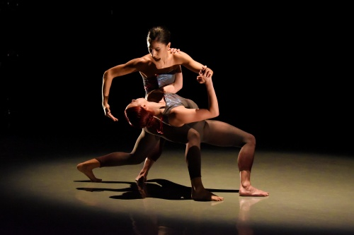 """Touch""<br>Dancers - Cristiana Cavallo and Katharine Larson."