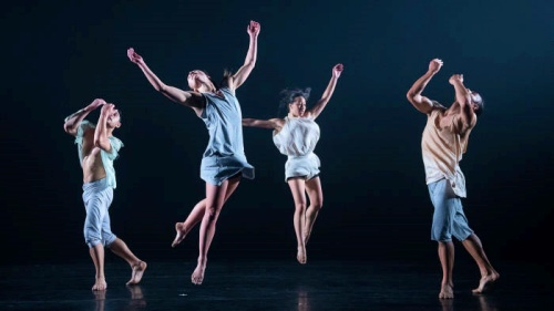 Black Grace dance company in 'As Night Falls'.