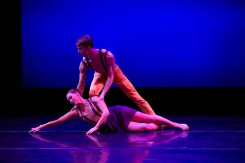 Emily Dyson and Aaron Steinberg in 'Without You' from 'La Vie on Broadway.'